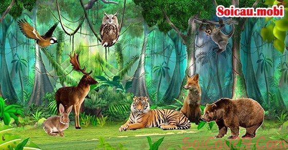 Bảng số đề theo con vật tổng hợp nhất